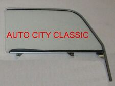1955 1956 1957 Chevy Nomad Pontiac Safari Door Glass Left Driver in Clear Assemb