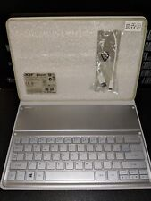 Tablet Case Bluetooth Keyboard Dock Silver KT-1252 For Acer Iconia Tab W700
