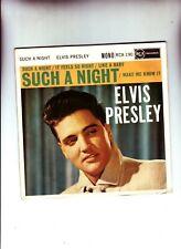 ELVIS PRESLEY ORIGINAL 1960 RCA EP SUCH A NIGHT