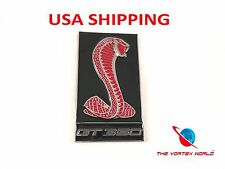 3D GT 350 Cobra Logo Front Hood Grill Emblem Sticker Badge FORD MUSTANG SHELBY