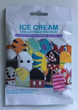 NEW DISNEY ICE CREAM COLLECTIBLE MYSTERY 5 PIN PACK