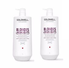 Goldwell Dual Senses Blondes & Highlights Shampoo + Conditioner 1L Duo