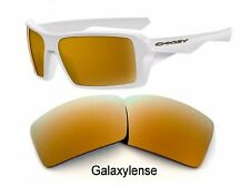 Galaxy Replacement Lenses For Oakley Eyepatch 1&2 Gold Polarized 100%UVAB