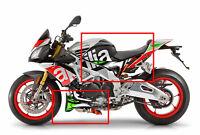Aprilia Tuono V4 1100 Factory  Italian flag side & belly pan graphics decals NEW