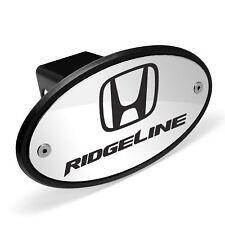 Used Honda Logo Ridgeline Chrome Metal Plate 2 inch Tow Hitch Cover