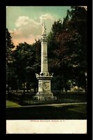 VINTAGE POSTCARD MINESINK MONUMENT GOSHEN NEW YORK VIEW POSTED 1910