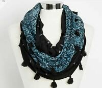 Maurices Light-weight Medallion Print Infinity Scarf NEW