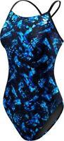 TYR Women's Emulsion Cutoutfit Swimsuit - 2018