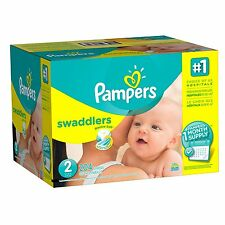 *NEW* Pampers Swaddlers Diapers Size 2, 204 Count ***LOWEST PRICE***