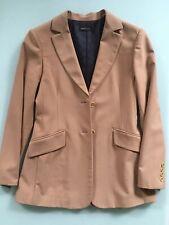 BCBG MAX AZRIA 2 Button Camel Coat Jacket Beige Blazer Women Size 2  EC