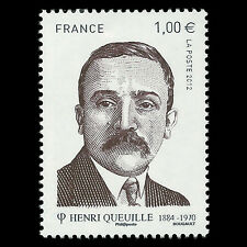 "France 2012 - Henri Queuille ""1884-1970"" - Sc 4170 MNH"