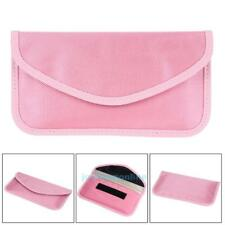 Pink Cell Phone RF Signal Shielding Blocker Bag Case Anti Radiation for Pregnant