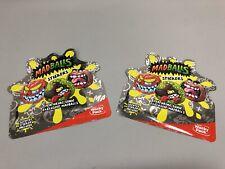 Sonic Madballs Wacky Pack Stickers 2019 (2 Packs UNOPENED)!