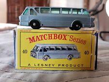 Vintage Matchbox Lesney #40 Long Distance Coach