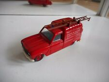 Solido Renault 4 Fourgonnette Sapeurs  Pompiers in Red