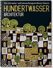 Fachbuch Friedensreich Hundertwasser Architektur, Werkverzeichnis, viele Bilder
