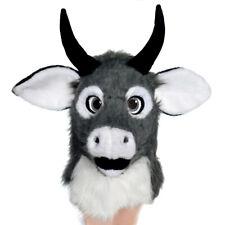 Crossdresser Fursuit Maske Tier Rinder Kostüm bewegen den Mund Kopfbedeckung