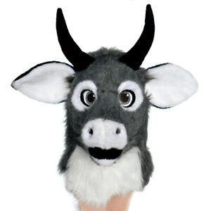 Fursuit Headgear Animal Cattle Costume Moving Mouth Headgear Cosplay