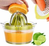 Lemon Orange Juicer Citrus Press Juicer Manual Fruit Squeezer Juice Extractor US
