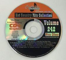 CHARTBUSTER KARAOKE HOT COUNTRY HITS NOVEMBER 2002 VOLUME 242 CD+G CBCDG60242