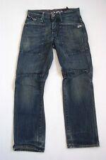 G-Star Navy Jack Loose Jeans Hose Blau Stonewashed W29 L30