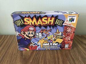 Super Smash Bros. N64 Nintendo - BOX ONLY - No Game