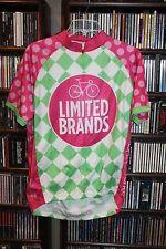 Victoria's Secret PINK Bath Body Works Pelotonia Cycling Jersey Mens L NEW (b87)