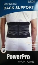 Magnetic Back Support Brace Low back Lumber support Elastic reinforce Small
