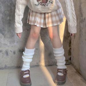 Wool Ball Knitted Women Autumn Foot Cover Leg Warm Socks Knee Cover Leg Warmers