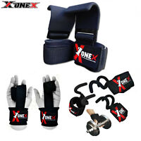 Weight Lifting Training Gym Straps Hand Bar Wrist Support Gloves Wrap Rod Hooks