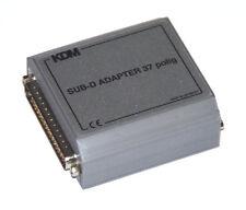 SUB D Mess und Prüf  Adapter 37 polig  - messen, prüfen, anpassen - mit Gehäuse