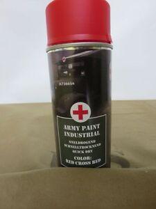400ml (1L-16,25€) Wehrmacht Rotes Kreuz US Army Red Cross Spraydose WK2 WH