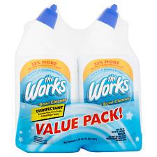 The Works Disinfectant Toilet Bowl Cleaner Value Pack 64 fl oz