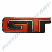 GT Boot Lid Badge , Chrome, BRAND NEW , for XA Ford Falcon 351 GS Trunk Fairmont