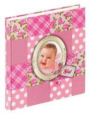 Walther Babyfotoalbum Mädchen Album Babyalbum Fotoalbum Geschenk z. Geburt Taufe