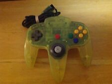 RARE! Nintendo 64 EXTREME GREEN Controller Pad OEM Transparent Neon Lime N64