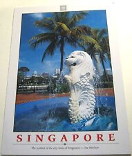 Singapore Symbol of the city state Merlion - unposted