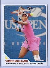 "VENUS WILLIAMS 2010 ""1ST OVER PRINTED"" SPORTS ILLUSTRATED TENNIS ROOKIE CARD!"