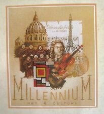 Lanarte MILLENIUM ART & CULTURE Embroidery Cross Stitch Kit 34505 Sealed Unused