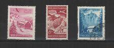 Yougoslavie 1951 3 timbres poste aérienne /T2109