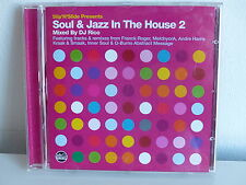 CD ALBUM SOUL & JAZZ in the house N° 2 Mixed by DJ RICO SLIPCD219