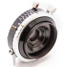 Boyer Beryl 90mm f6.8 large format lens in Compur shutter F=90 1:6.8