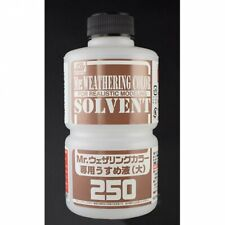 VOLKS Special Liquid for Mr. Weathering Color Large 250ml Kit Hobby Tool DIY