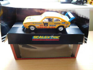Scalextric - C379 3.0S Rally Capri Special Boxed 4 New tyres & New Pinion.