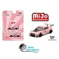 Mini GT 1:64 LB Works Nissan GT-R (R35) Pink Pig #76【In Stock】