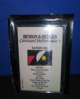 Benson & Hedges Command Performance Spotlights The70's Cassette Tape 1988/Best $