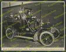 Taxi-Chauffeurin Elisabeth von Papp Berlin Auto Adler-Wagen Kandelhardt AG 1908!