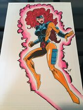 X-men Jean Grey! 11x17 Comic Book Art