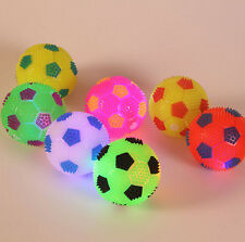 Pop Light Up Sounding Ball Flashing Bouncing Balls Hedgehog Ball Kids Toy FO