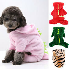 Pet Dog Coat Dinosaur Hooded Jacket Halloween Christmas Custome Puppy Clothes